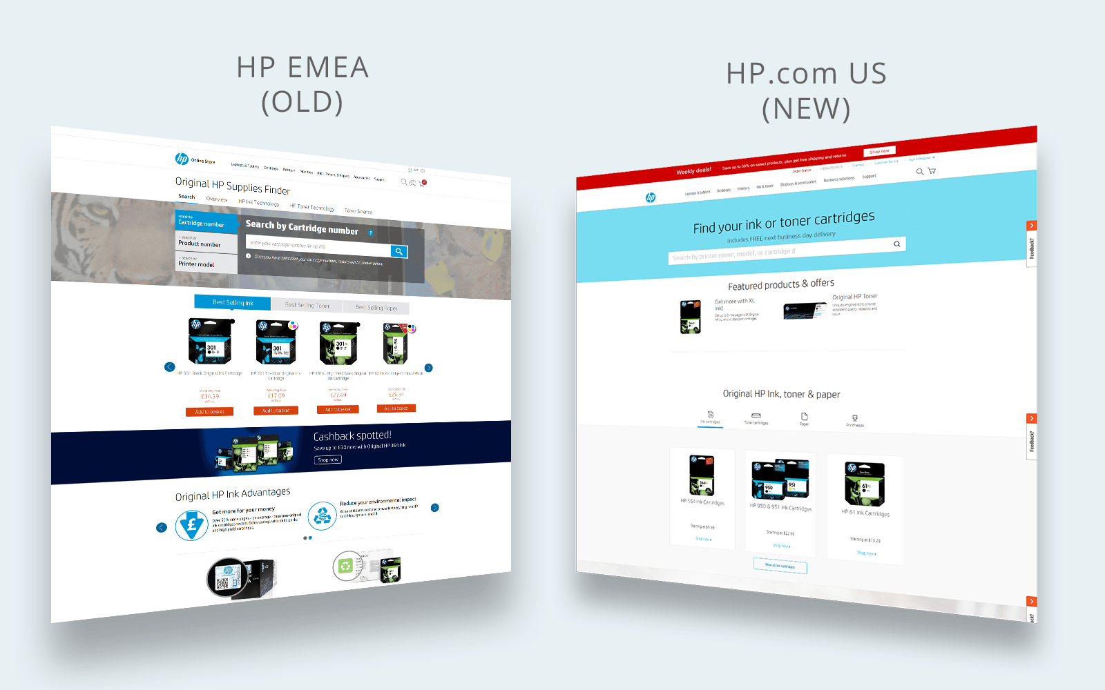 HP SUPPLY FINDER REDESIGN – Lidia Chia